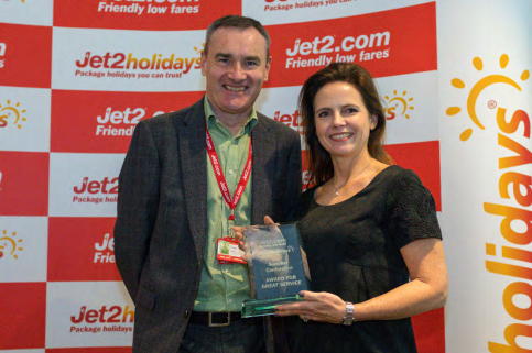 Jermyn Street Design Win JET2.com's 'Great Service Award'
